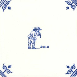 Oud Hollandse Kinderspelen Bikkelen Koten - Kinderspelen 12,5cm