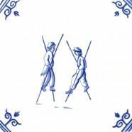 Oud Hollandse Kinderspelen Steltlopen - Kinderspelen 12,5cm