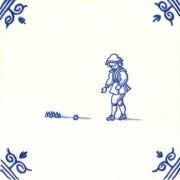 Oud Hollandse Kinderspelen Kegelen - Kinderspelen 12,5cm