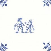 Old Dutch Children's Games Rock Slingshot - Childs Play 12,5 cm