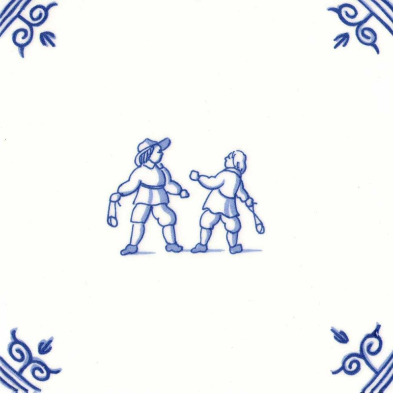 Oud Hollandse Kinderspelen Keislingeren - Kinderspelen 12,5cm