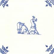 Oud Hollandse Kinderspelen Op zijn kop staan - Kinderspelen 12,5cm