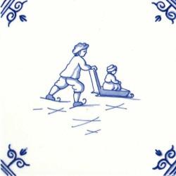 Iceskating Sledge - Childs Play 12,5cm