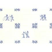 Oud Hollandse Kinderspelen Kinderspel - Set van 6 tegels 12,5cm