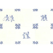 Childs Play - Set of 6 tiles 12,5cm