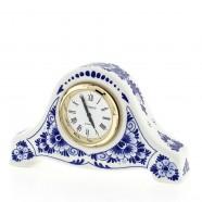 Miniatuur Klok Bloem 6cm - Delfts Blauw