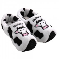 Cow Holland Black White - Clog Slipper