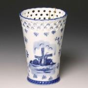 Tulpenvazen Molen Delfts Blauw - Vaas 15,5cm