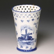Tulip Vases Windmill Delft Blue - Vase 15,5cm