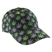 Caps - Baseball Caps Weed Print - Cap