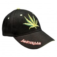 Weed Amsterdam Canabis - Cap