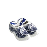 Decoration Delft Blue Mill - 8 cm Wooden Shoes