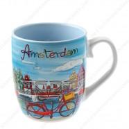 Mug Canal Bright Amsterdam 8cm - Senseo
