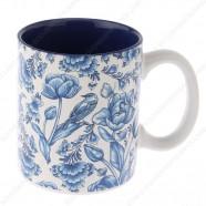 Mug Delft Blue Tulips 9,5cm