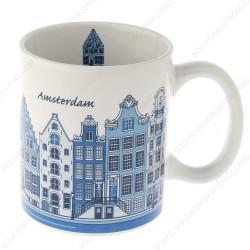 Mok Grachtenhuizen Amsterdam 9,5cm