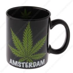 Mug Cannabis Amsterdam 9,5cm