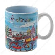 Mok Gracht Bright Amsterdam 9,5cm