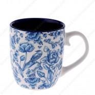 Mug Delft Blue Tulips 8cm - senseo