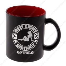 Mug Amsterdam Red Light District 9,5cm