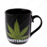 Mug Cannabis Amsterdam 8cm...