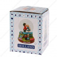 Holland Kissing Couple - Snow Globe 6.5 cm
