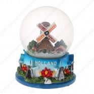 Holland Windmills - Snow...
