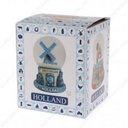 Amsterdam Delft Blue - Sneeuwbol 9cm