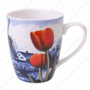 Mug DB Windmill Red Tulip 10cm