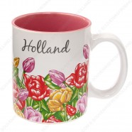 Mug Tulips Holland 9,5cm