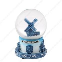 Amsterdam Delfts Blauw - Sneeuwbol 6.5cm