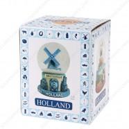 Amsterdam Delft Blue - Snow Globe 6.5 cm