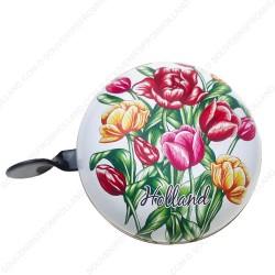 Fietsbel Tulpen 8cm