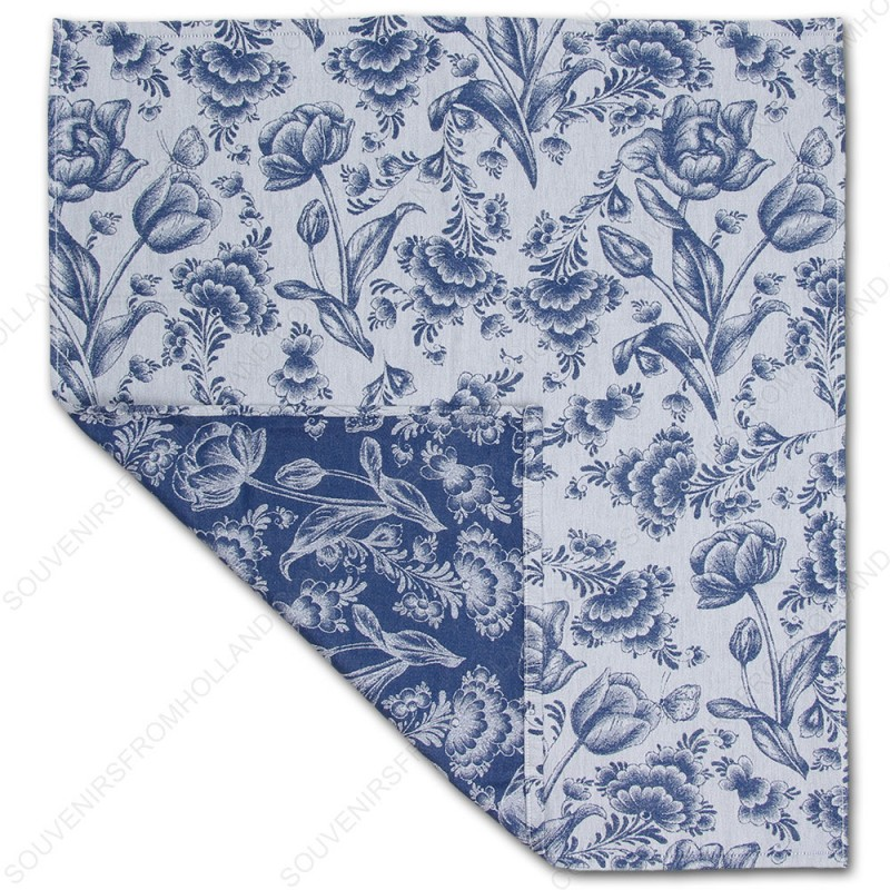 Delft Blue Tea Towel - Dish Cloth 60x65cm