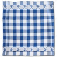 Windmill Blue Tea Towel - Dish Cloth 60x65cm