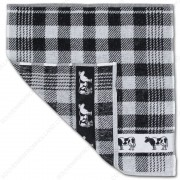 Cow Black Kitchen Towel...