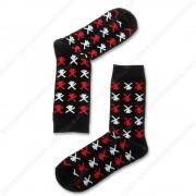 Socks Windmills Black -...
