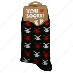 Socks Windmills Black - Size 35-41