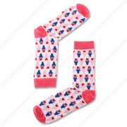 Socks Tulips Pink- Size 35-41