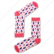 Sokken Tulpjes Roze - Maat...