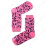 Sokken Fiets Roze - Maat 35-41