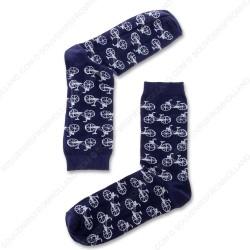 Sokken Fietsen Blauw - Maat 40-46