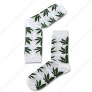 Sokken Cannabis Wit - Maat...