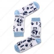 Socks Delft Blue Holland -...