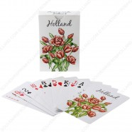 Red Tulip Holland Playing Cards