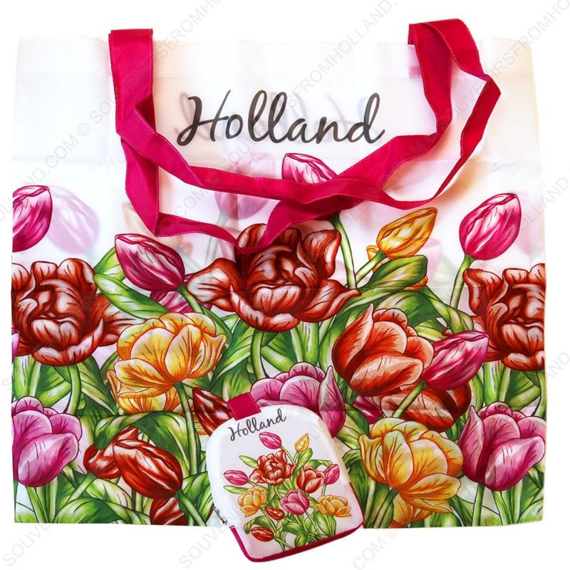 Tulpen in Kleur - Boodschappentas 42,5cm