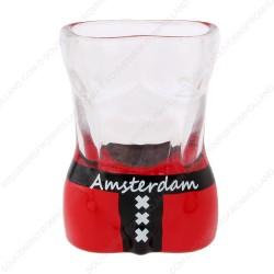 Man Torso Wapen Amsterdam Shotglas - Shooter