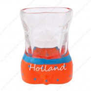 Male Torso Holland Shotglass - Shooter