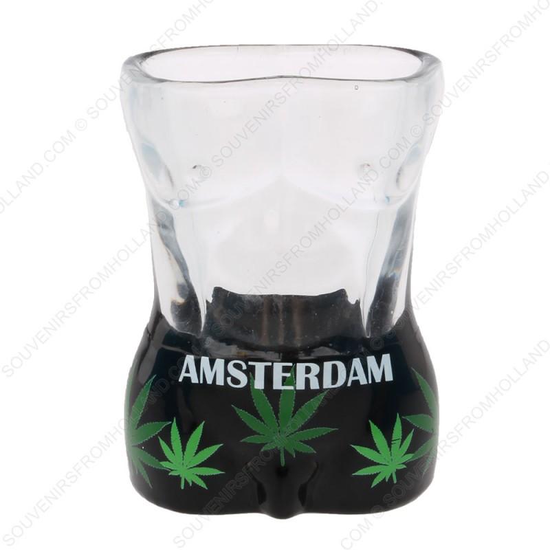 Male Torso Amsterdam Shotglass - Shooter