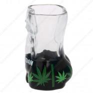 Male Torso Cannabis Amsterdam Shotglass - Shooter