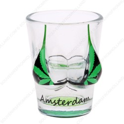 Bikini Cannabis Amsterdam Shotglass - Shooter
